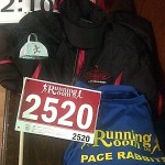 Race gear for 2013 Chilly Half Marathon