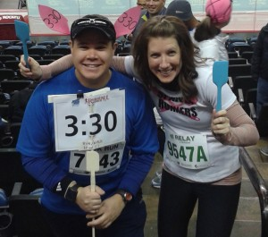 Me with the Running With Spatulas Queen herself, Ali Mc (photo by Ali Mc)