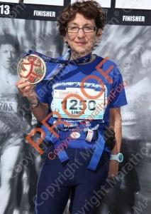 Linda Kates, Boston Qualifier! Coached by me!