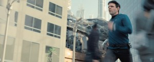 Spock sprinting through a future San Francisco (source)