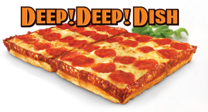 Little Ceasar's Deep! Deep! Dish Pizza! 2800 calories!!