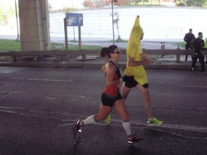 Better view of the banana runner