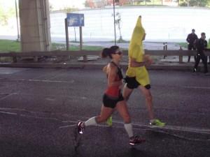 Better view of the banana runner