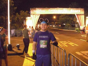 Before the Walt Disney World 5k