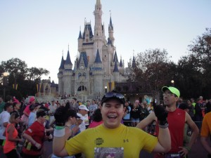Magic Kingdom during Walt Disney World Marathon