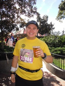 Who says you need to finish the race before you start drinking!?
