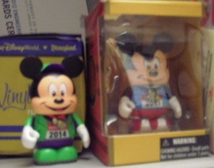New Vinylmation figure (left) with the 2013 figure