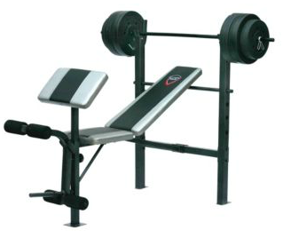 Image of the weight set from the Canadian Tire website