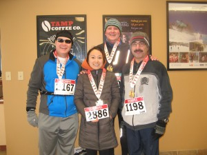 Shortly after the Chilly Half-Marathon