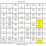 Fall 2014 Training Plan
