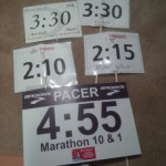 My collection of pacer signs
