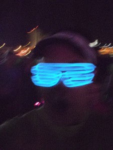 Light-up glasses I wore for the Rock 'n' Roll Las Vegas races