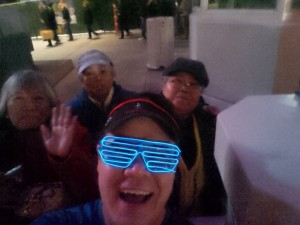 Selfie with some of my family during the Rock 'n' Roll Las Vegas Half-Marathon