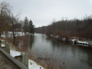 Credit River in December