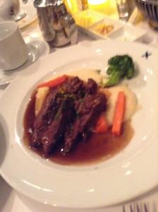 Beef?