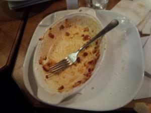 Cracked Lasagna Dish - AFTER