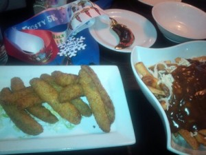 Medals, Poutine and Deep Fried Pickles