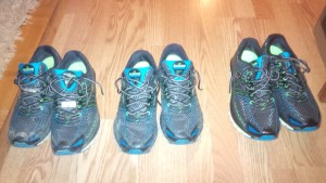 I went through 3 pairs of Brooks Glycerin 12 shoes this season