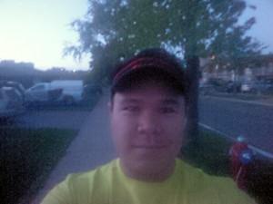 Selfie before my first #5amRunClub run of this season