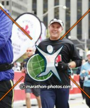 Making running look so easy in this finish photo. I could give photogenic runner guy a challenge!
