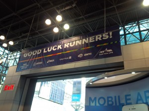 """Good luck runners!"""