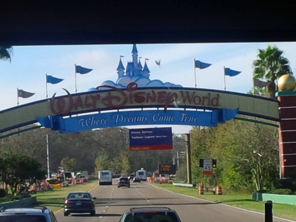 "Entering the ""Happiest Place On Earth"""