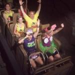 Riding the Expedition Everest roller coaster DURING the Walt Disney World Marathon