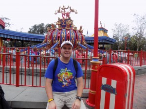 At Walt Disney World Magic Kingdom