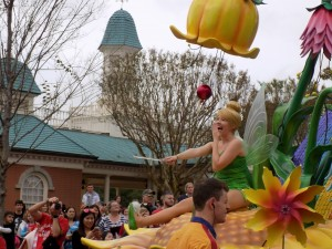 Festival of Fantasy Parade at Magic Kingdom: Tinkerbell.