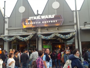 Store at Disney Springs selling Star Wars merchandise