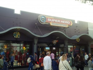 Store at Disney Springs selling Marvel merchandise: i.e. Avengers, Iron Man, Agents of SHIELD