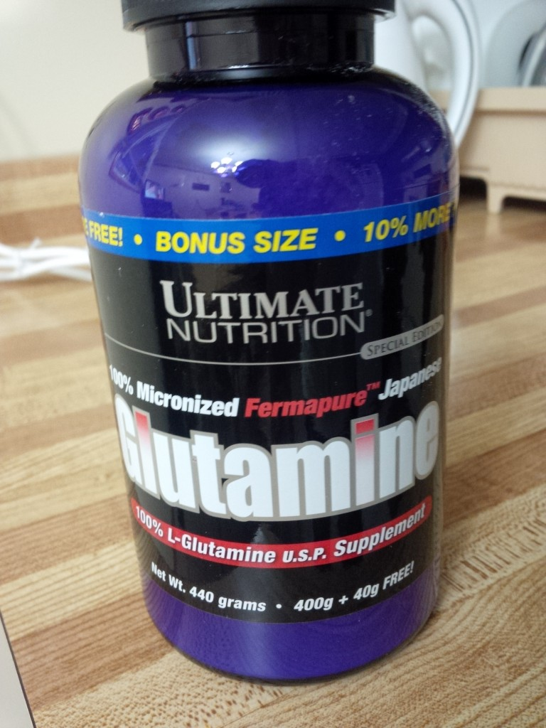 Bottle of Glutamine