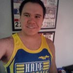 Trying out my Half Fanatics singlet before the Mississauga Half-marathon 2016