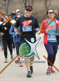 Happily running the Mississauga 5k