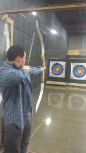 Archery at Stryke Target Range