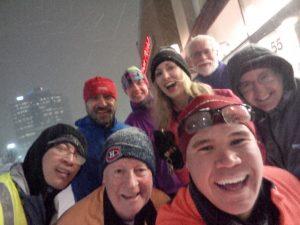 March 01: Selfie after a snowy run.