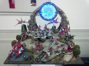 A ridiculously awesome display board by another player