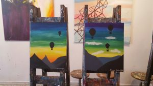 Hot Air Balloon Paintings