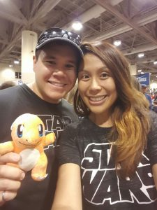 I got a stuffed Charmander!