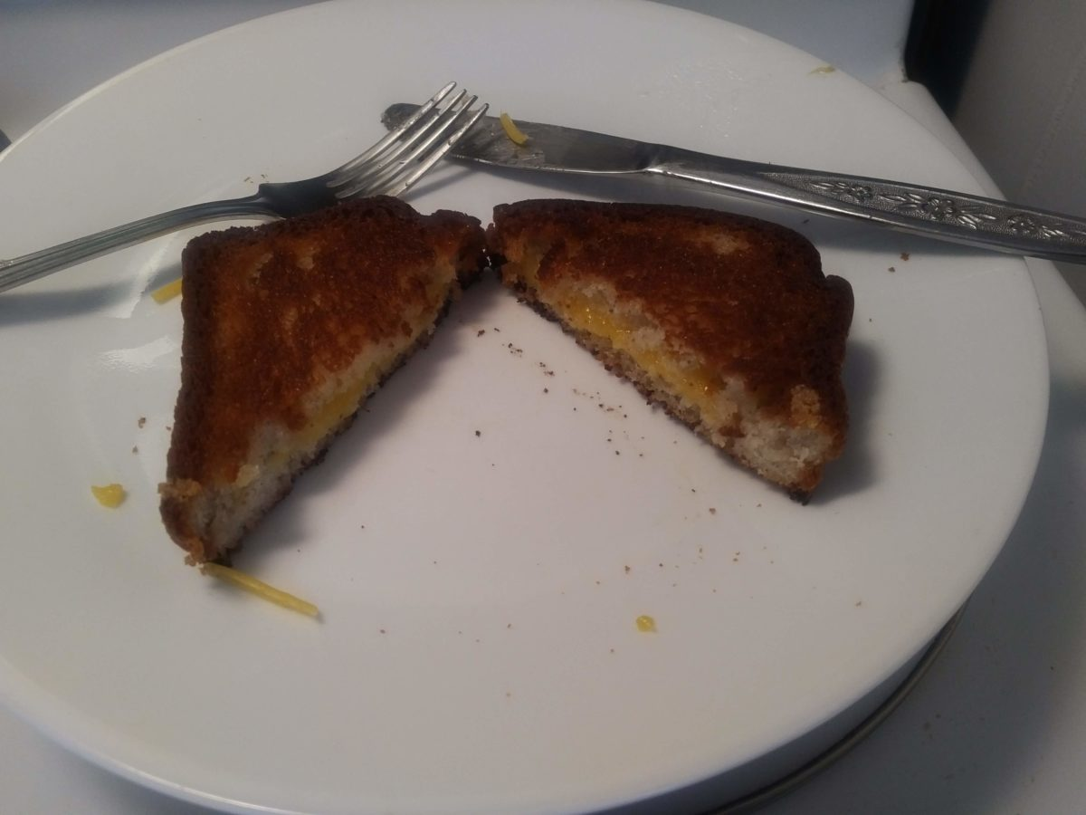 Grilled Cheese: Gluten-free & Dairy-Free